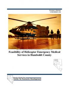 Feasibility of Helicopter Emergency Medical Services in Humboldt