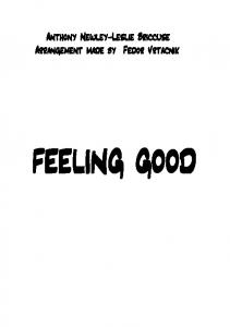 FEELING GOOD- - orchestral score production