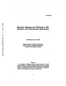 Fermion Masses and Mixing in 331 Models with Horizontal Symmetry