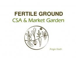 FERTILE GROUND - Ontario Farmland Trust