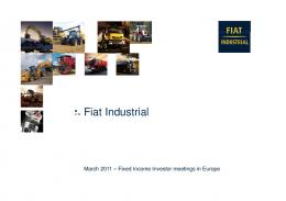 Fiat Industrial - CNH Industrial