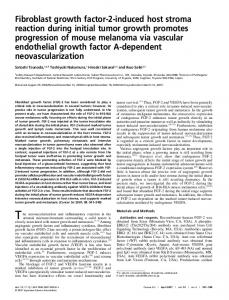 Fibroblast growth factor-2-induced host stroma ... - Wiley Online Library