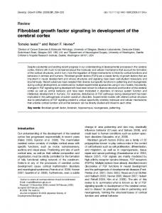 Fibroblast growth factor signaling in ... - Wiley Online Library