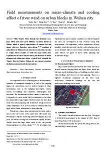 Field measurements on micro-climate and cooling effect ... - IEEE Xplore