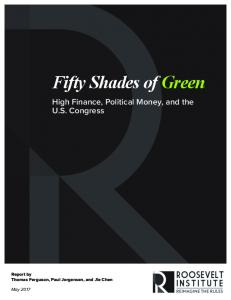 Fifty Shades of Green - Roosevelt Institute