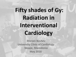 Fifty shades of Gy: Radiation in Interventional ...