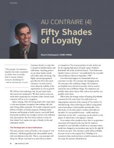 Fifty Shades of Loyalty - Chuck Chakrapani
