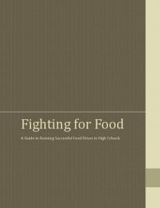 Fighting for Food - The World Food Prize