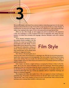 Film Style - McGraw-Hill Higher Education