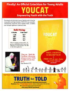 Finally! An Official Catechism for Young Adults - Lighthouse Catholic ...