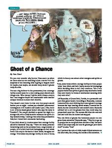 Finally: Ghost of a Chance