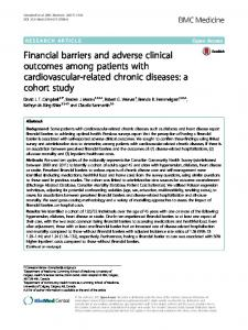 Financial barriers and adverse clinical outcomes ... - BMC Medicine