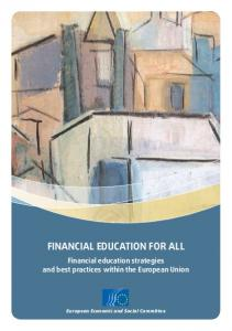 financial education for all - EESC European Economic and Social ...