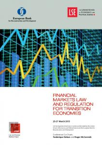financial markets law and regulation for transition economies
