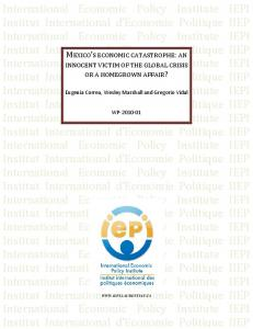 Financing Development: Removing the External Constraint - CiteSeerX