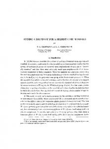 Finding a boundary for a Hilbert cube manifold - Project Euclid