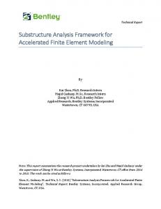 Finite Element Model Identification for Structure ...