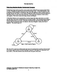 Finite State Machines Fundamental Concepts.PDF - School of ...