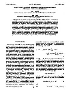 First-principles interatomic potentials for transition-metal aluminides