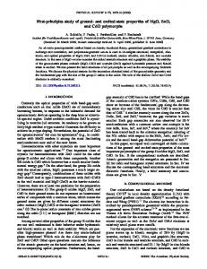 First-principles study of ground- and excited-state ... - Semantic Scholar