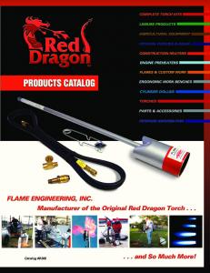 Flame Engineering Catalog - Integrity Sales and Marketing