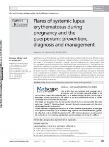 Flares of systemic lupus erythematosus during