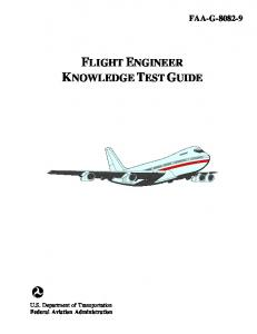 FLIGHT ENGINEER KNOWLEDGE TEST GUIDE