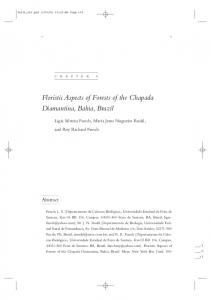 Floristic Aspects of Forests of the Chapada