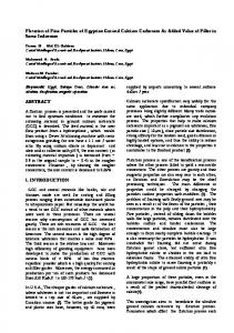 Flotation of Fine Particles of Egyptian Ground Calcium Carbonate As ...