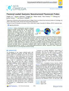 Fluorenyl-Loaded Quatsome Nanostructured ... - ACS Publications