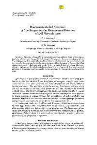 Fluorescent-labelled aprotinin: A new reagent for the ... - Springer Link