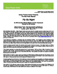Fly By Night - Dallas Theater Center