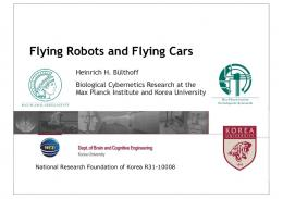Flying Robots and Flying Cars - Max Planck Institute for Biological ...