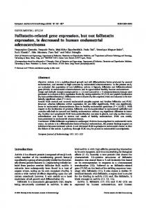 Follistatin-related gene expression, but not follistatin expression, is ...