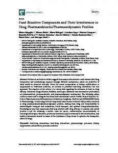 Food Bioactive Compounds and Their Interference in