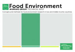 Food Environment - (ANH) Academy