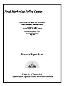Food Marketing Policy Center