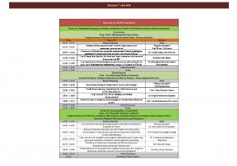 food safety conference programe - Food Safety and Municipality ...