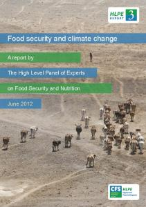 Food security and climate change - Food and Agriculture Organization ...