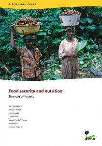 Food security and nutrition - Center for International Forestry Research