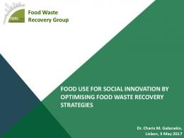 food use for social innovation by optimising food ...