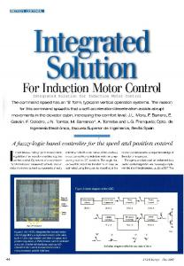For Induction Motor Control - idUS
