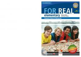 FOR REAL elementary - Scuolabook