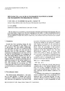 FOR TRANSMISSIVE ELECTROCHROMIC DEVICES 1 ... - LaMaV