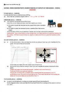 forces answers