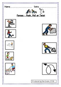 Forces - Push, Pull or Twist - Communication4All