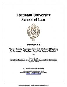 Fordham University School of Law - Papers.ssrn.com