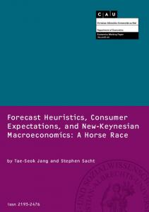 Forecast Heuristics, Consumer Expectations, and New-Keynesian