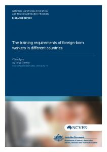 Foreign-born workers - Eric