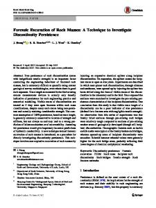Forensic Excavation of Rock Masses: A Technique to ... - Springer Link